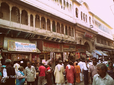 Market Lane of Dwarkadheesh Temple, Mathura