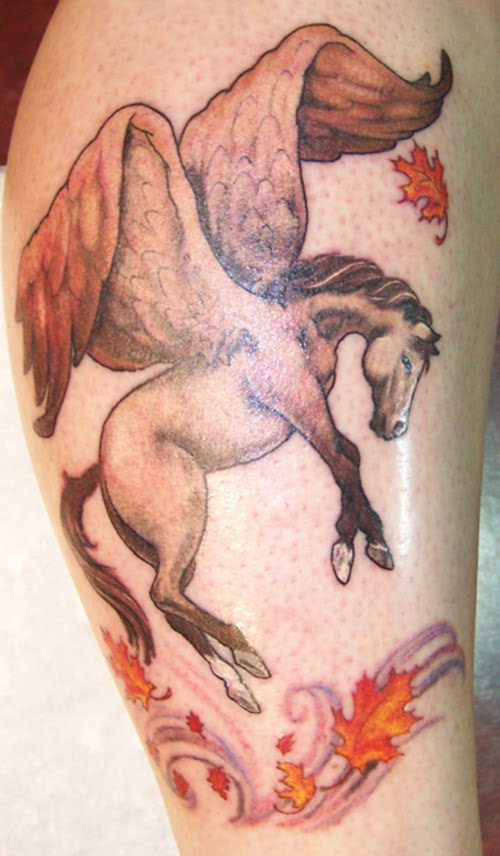 Tattoo designs horse tattoo meanings ideas and pictures for Tattoos of horses