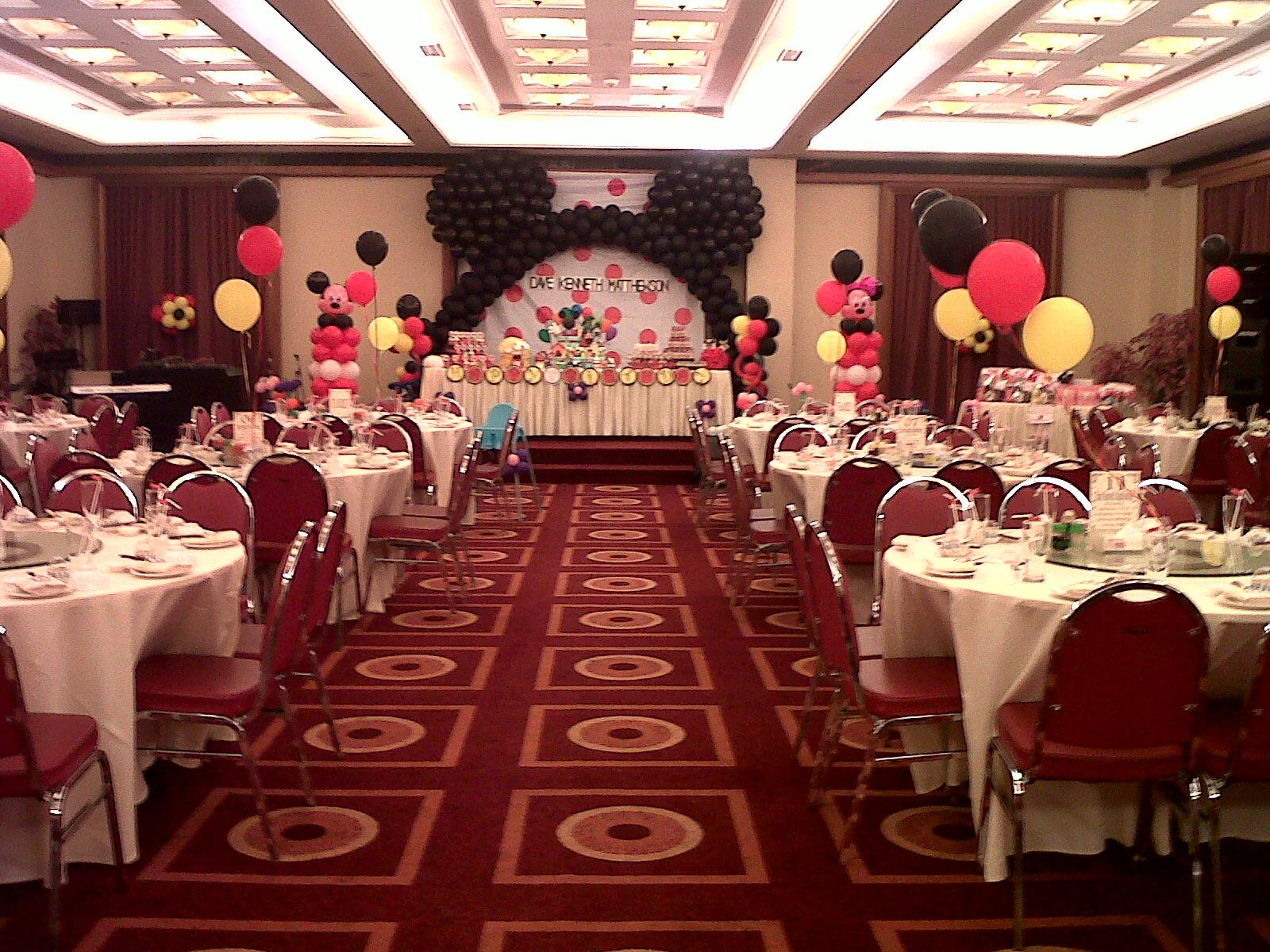 Dekorasi balon dekorasi birthday dave for Dekor ulang tahun
