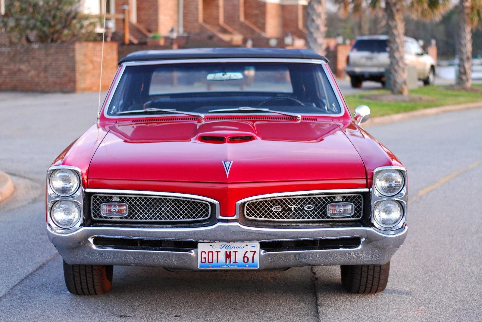 all american classic cars 1967 pontiac gto 2 door convertible. Black Bedroom Furniture Sets. Home Design Ideas