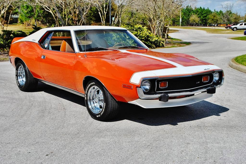 All American Classic Cars: 1974 AMC Javelin AMX 2-Door Coupe