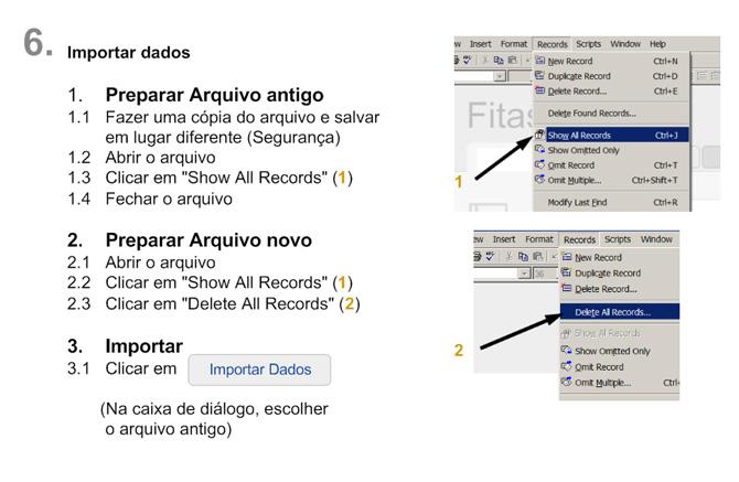 02126 FileMaker Database Malagueta