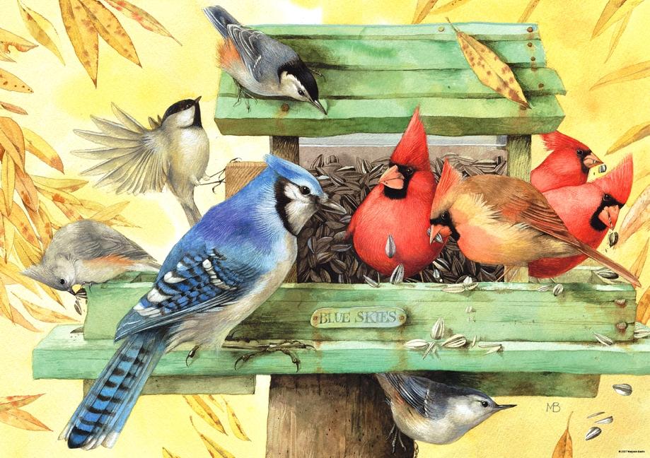 Красивые открытки с птицами 120