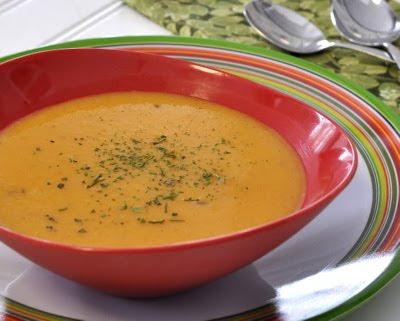 Low Calorie Carrot Soup #soupunder100calories