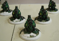 Gunners painted by Shawn