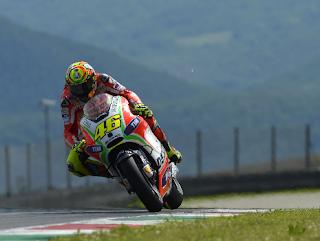 Valentino Rossi & GP12