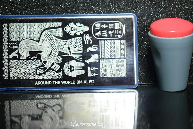 Bundle Monster Around The World BM-XL152, Bundle Monster Mega Squishy Silicone Stamper