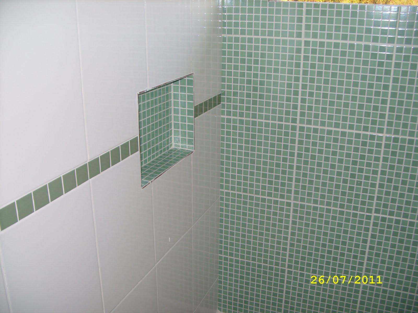 Imagens de #81724A Adilson Simone e Lilica em construção!!!: Banheiro suite  1600x1200 px 3596 Banheiros Verdes Fotos