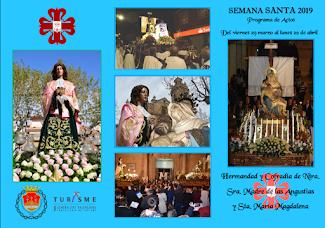 ACTOS DE LA HERMANDAD SEMANA SANTA 2019