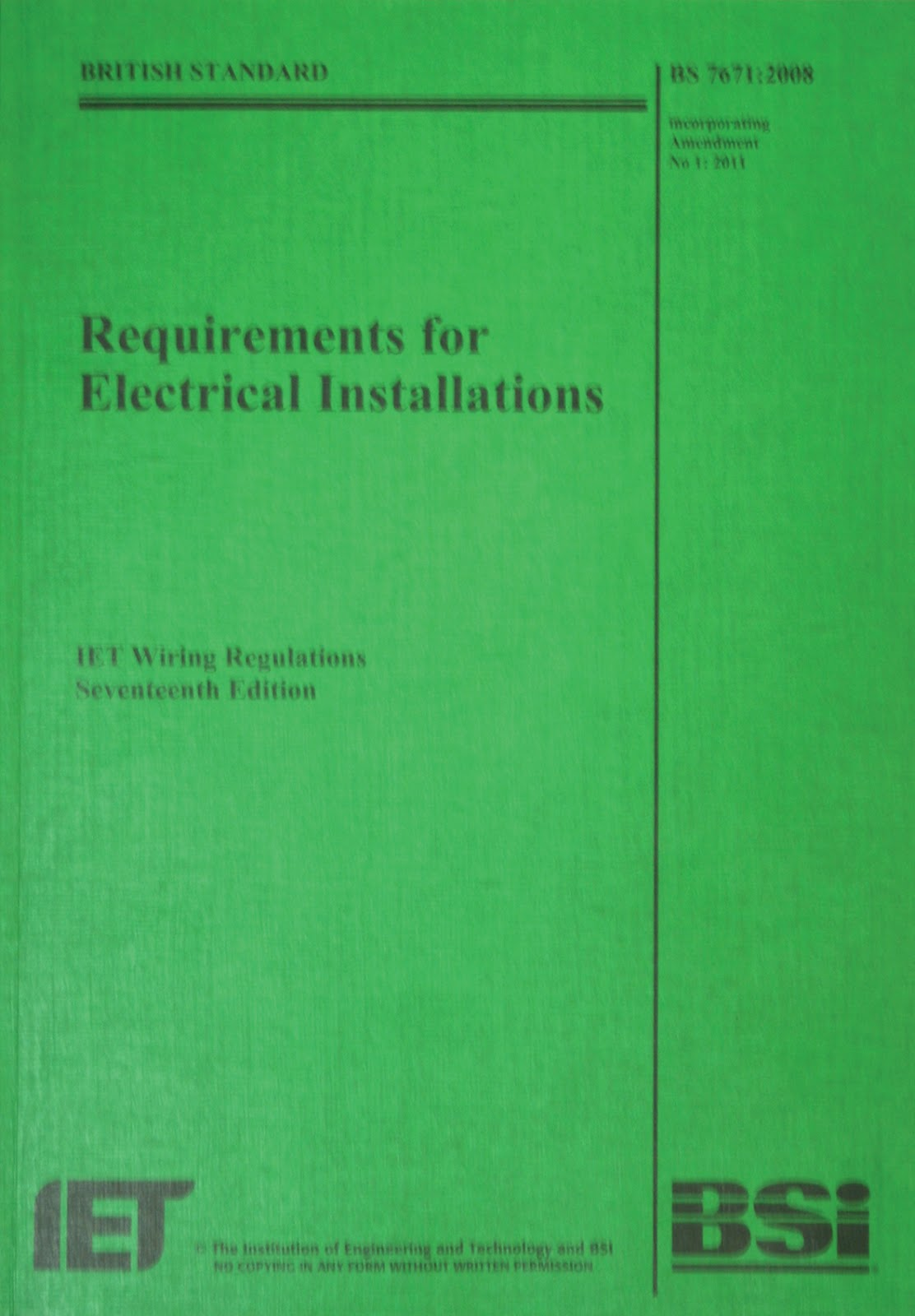 The Second Amendment Is On Its Way For 17th Edition Wiring Iet Regulations Book