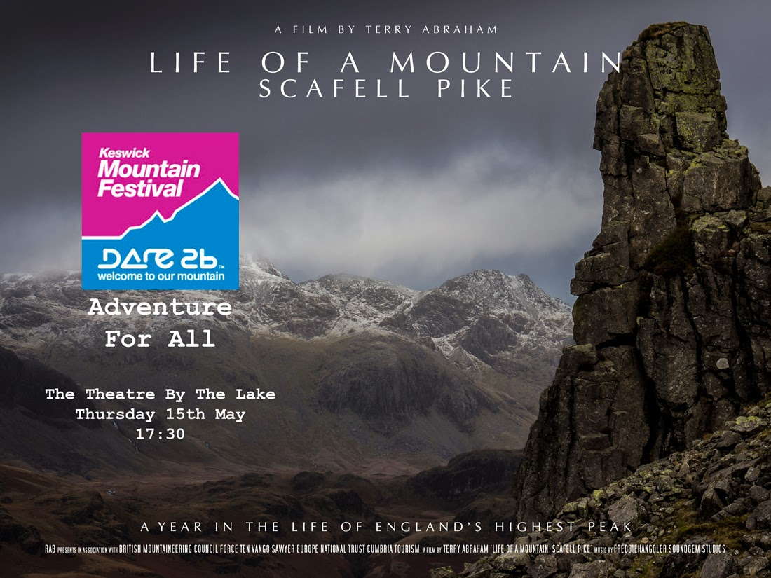 Life of a Mountain Scafell Pike Terry Abraham Keswick Mountain Festival