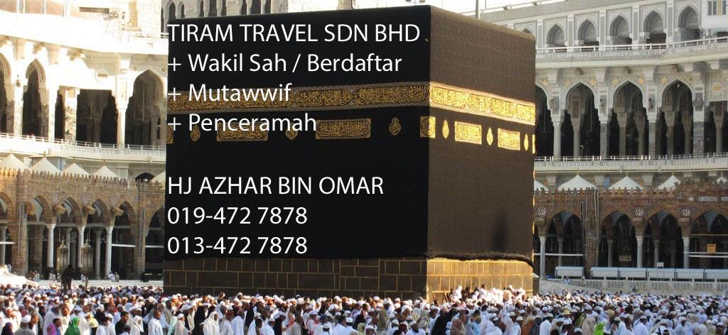 Tiram Travel Sdn Bhd - Hj Azhar Omar