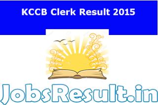 KCCB Clerk Result 2015
