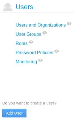 Danh mục quản lý người dùng