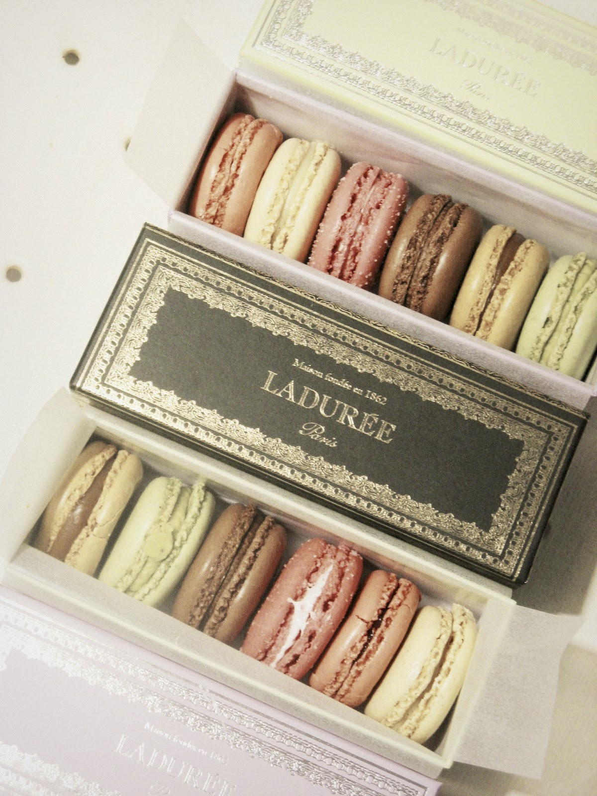 hunted and made laduree for the love of macarons. Black Bedroom Furniture Sets. Home Design Ideas