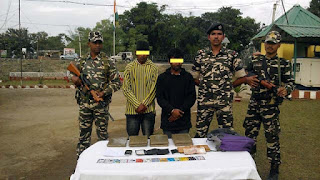 SSB personnel seized Charas at Panitanki BOP under 41st Bn Ranidanga