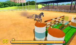my riding stables 3d jumping for the team screen 1 My Riding Stables 3D   Jumping for the Team (3DS)   Screenshots, Concept Art, & Press Release
