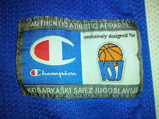 Canotta Dejan Bodiroga Jersey Canotta Camiseta FIBA World Championship 2002 Yugoslavia Jugoslavija