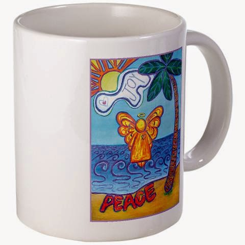 Beach Angel Mug