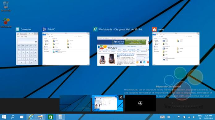 Windows 9 contará com áreas de trabalho virtuais para organizar janelas