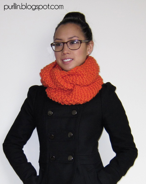 Circle Scarf Knitting Patterns : Purllin: Triple-Layer Infinity Circle Scarf Pattern