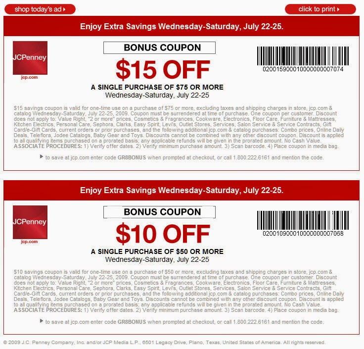 Jcpenney com coupon code