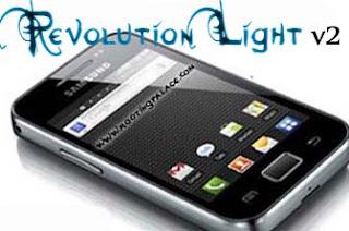 Revolution Light V2 Custom ROM For Galaxy ACE S5830