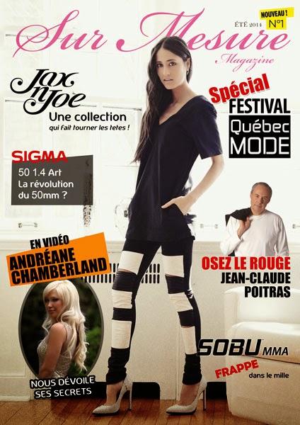 Sur Mesure, un magazine web sur la mode québécoise