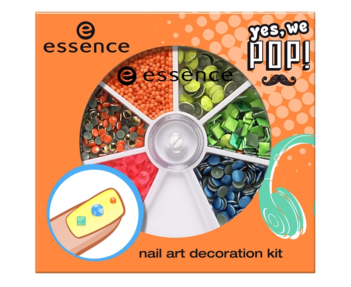 Essence Yes We Pop Nail Art Deco Kit
