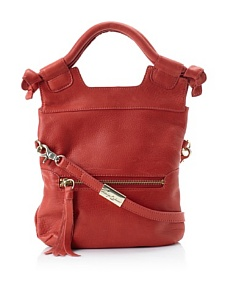 MyHabit: Save Up to 60% off Foley + Corinna Handbags: Disco City Convertible Cross-Body, Washed Red
