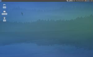 Xubuntu 12.04 desktop and wallpaper