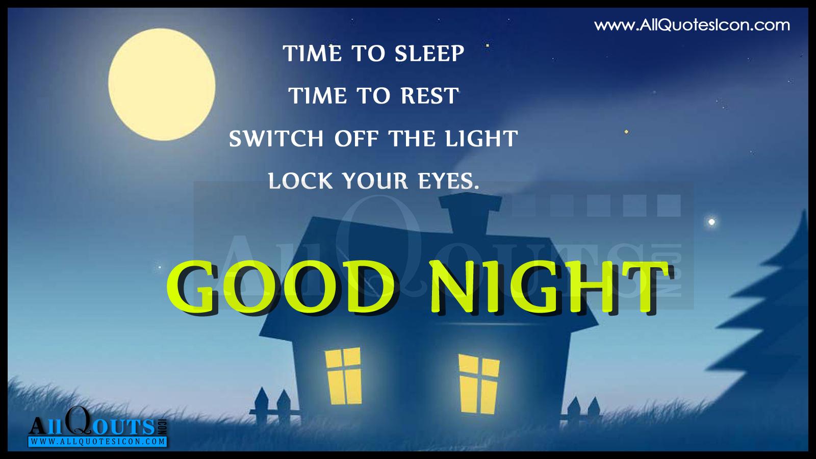 good night wallpapers telugu
