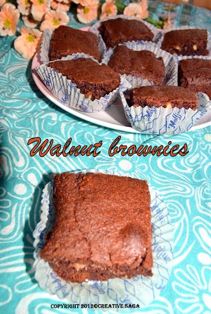 chcoclate walnut brownies