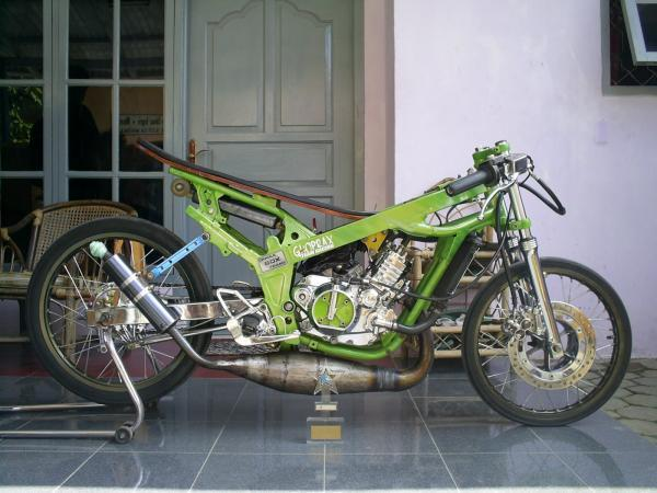 Modifikasi Motor Jupiter Mx Hijau