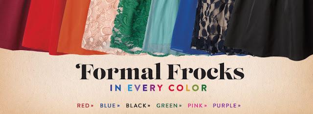 Formal Frocks