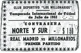 Conoce la historia del Millonarios Vs Real Madrid
