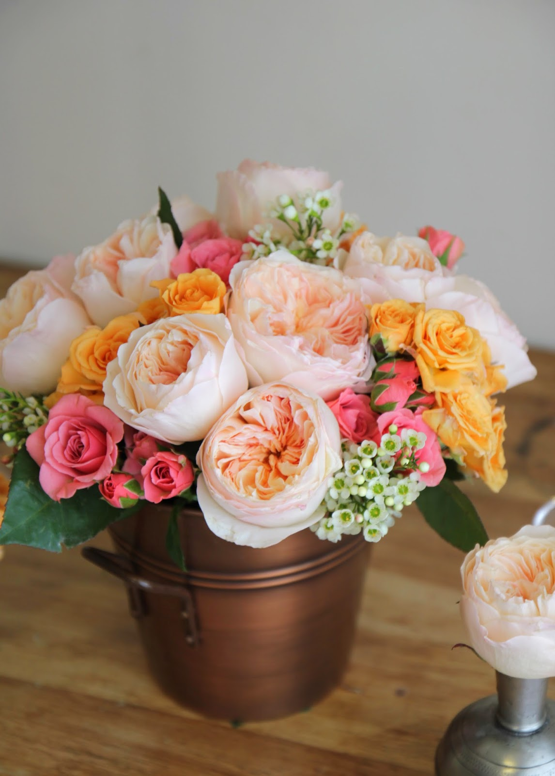 how to keep fresh roses alive pennies