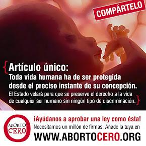 Firma para proteger el derecho a la vida