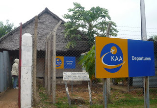 Old Terminal Manda Airport, Lamu