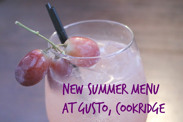 Gusto Cookridge Summer Menu