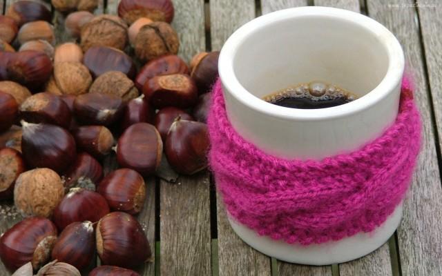 Kubek kawy na rozgrzanie
