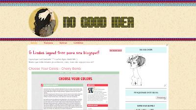 5ª versão do blog