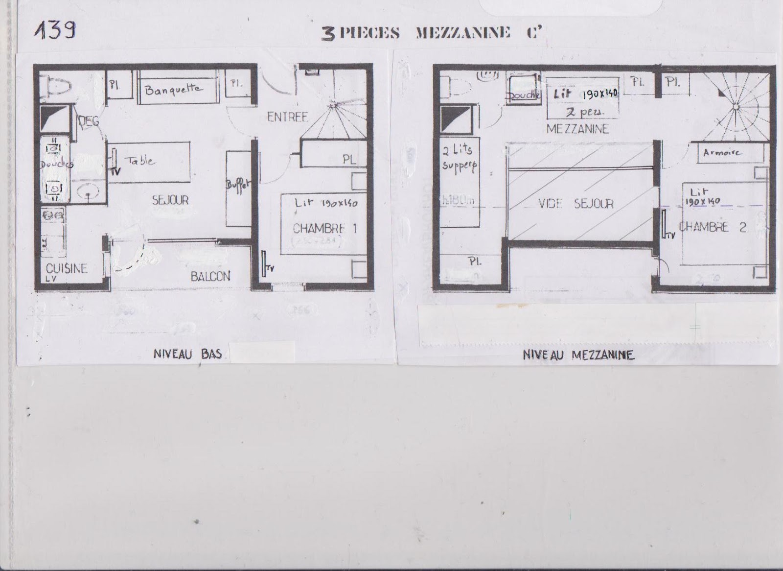 Location les menuires appartement duplex 8 couchages for 3 chambres dans 50m2