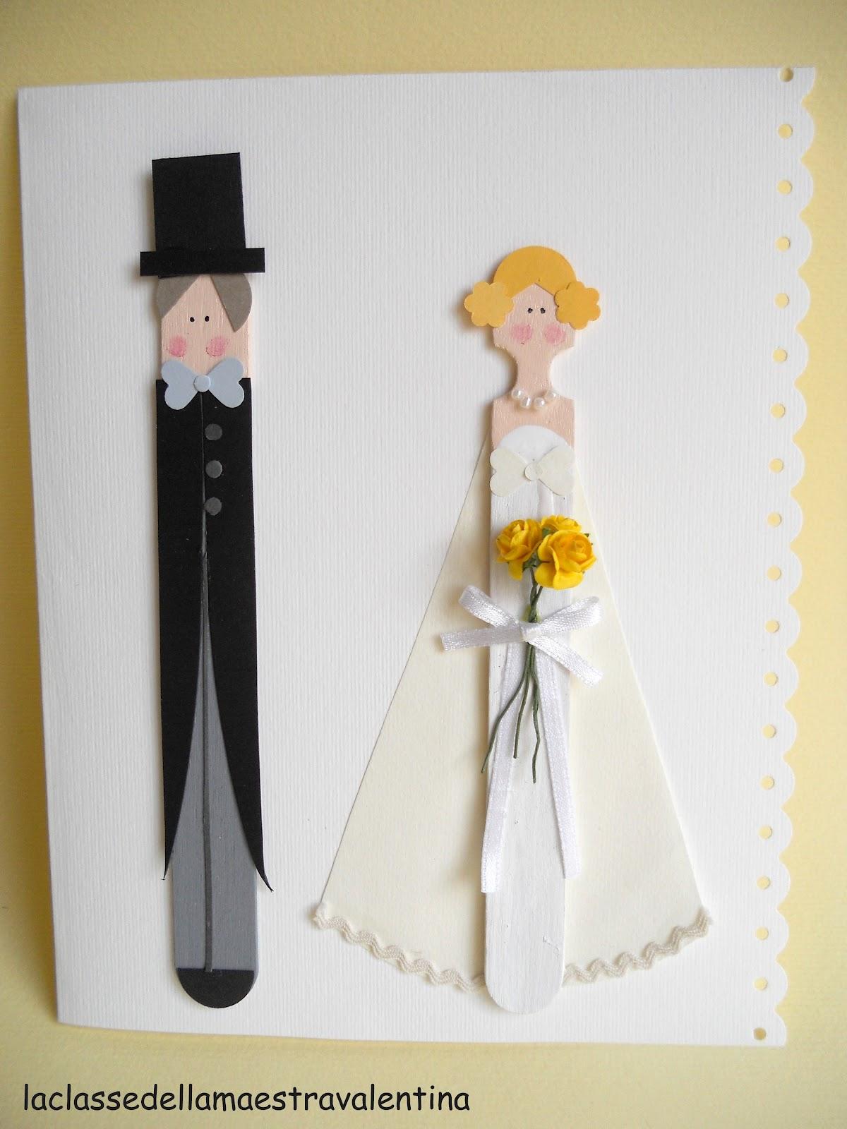 La classe della maestra valentina biglietti per matrimonio for La classe della maestra