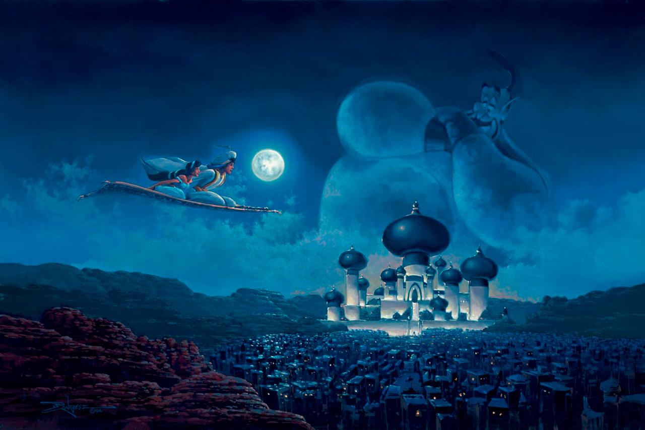 Arte Brasil Tapete Cinderela : da Agrabah noturna a partir de um passeio de tapete m?gico ideal