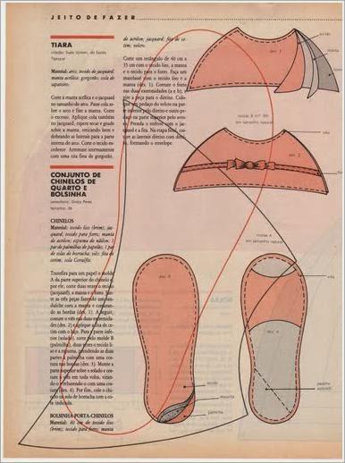 Как сшить шлепки выкройки