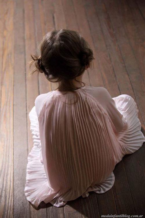 vestidos para nenas otoño invierno 2014