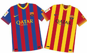 Jersey barca Leaked 13/14