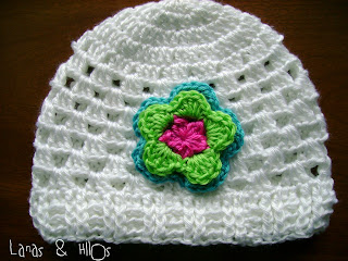 free crochet patterns: granny white hat