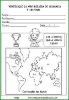 Capa de avaliação geografia e história-copa